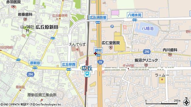 長野県塩尻市広丘野村1695周辺の地図