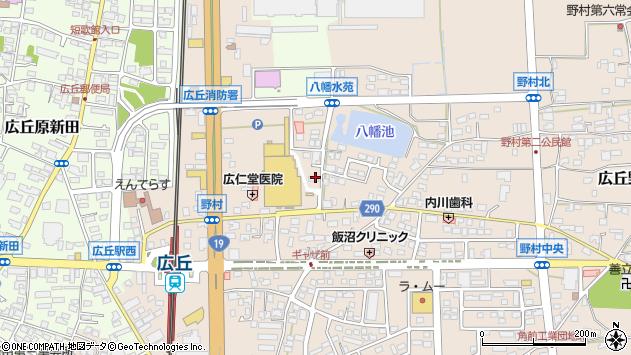 長野県塩尻市広丘野村1682周辺の地図