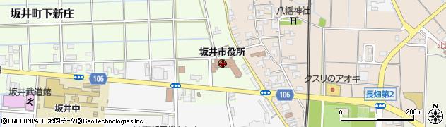福井県坂井市周辺の地図