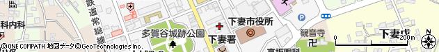 茨城県下妻市周辺の地図