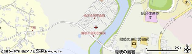 島根県隠岐郡隠岐の島町周辺の地図