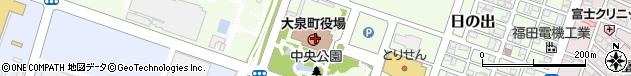 群馬県邑楽郡大泉町周辺の地図