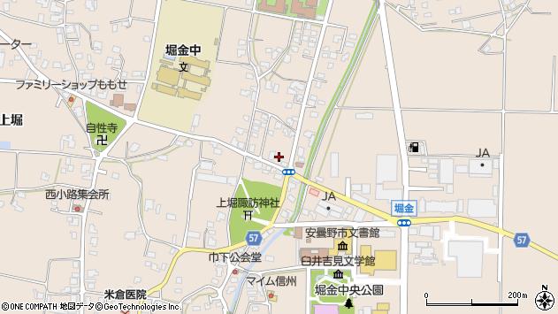 長野県安曇野市堀金烏川 地図(住所一覧から検索) :マピオン