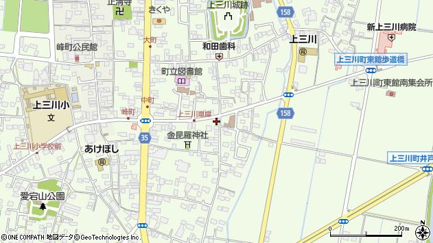 栃木県河内郡上三川町上三川 地図(住所一覧から検索 ...