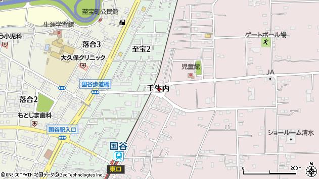栃木県下都賀郡壬生町壬生丙 地図(住所一覧から検索 ...