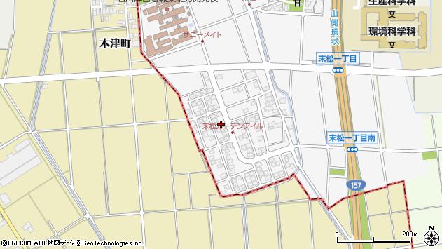石川県野々市市末松 地図(住所一覧から検索) :マピオン