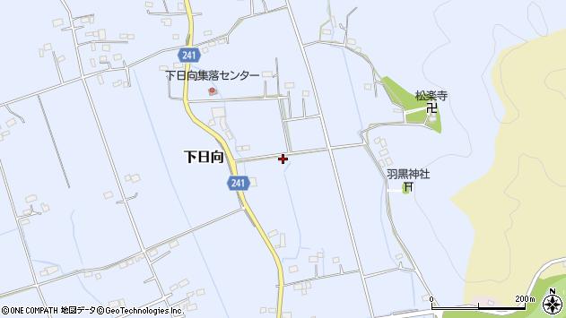 栃木県鹿沼市下日向254 地図(住所一覧から検索) :マピオン