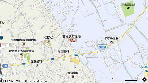 栃木県塩谷郡高根沢町周辺の地図
