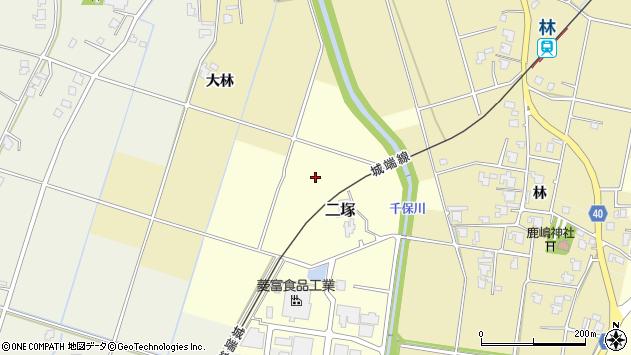 富山県高岡市二塚二塚南部周辺の地図