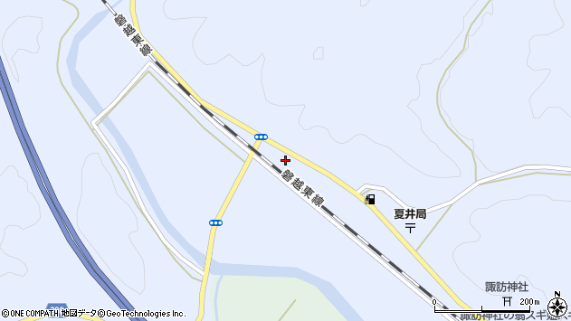 福島県田村郡小野町夏井夏井 地図(住所一覧から検索 ...