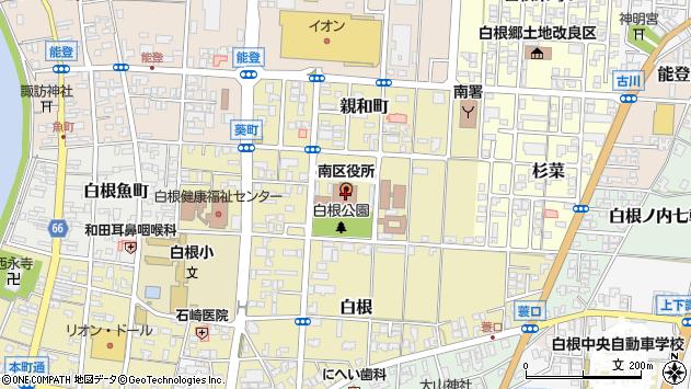 新潟県新潟市南区 住所一覧から地図を検索