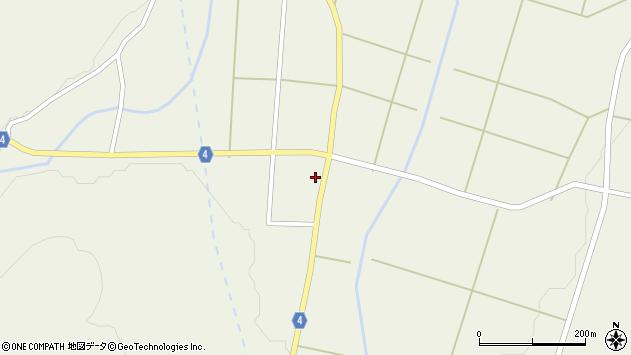 山形県東置賜郡川西町玉庭5860周辺の地図