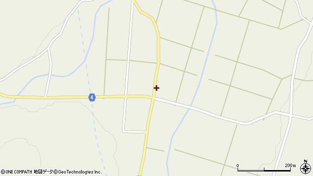 山形県東置賜郡川西町玉庭5756周辺の地図