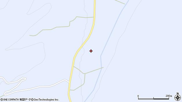 山形県東置賜郡川西町大舟長沢周辺の地図