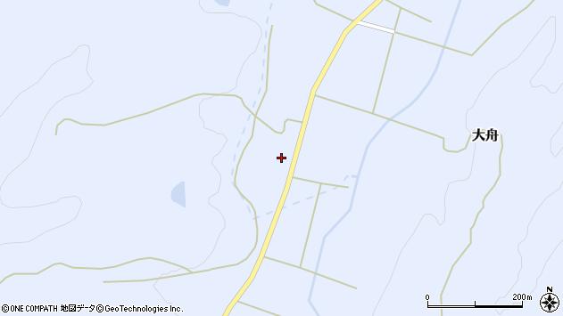 山形県東置賜郡川西町大舟715周辺の地図