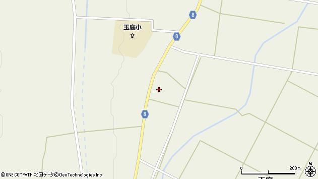 山形県東置賜郡川西町玉庭5209周辺の地図