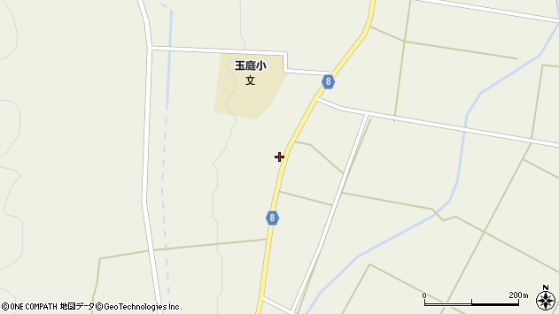 山形県東置賜郡川西町玉庭5229周辺の地図
