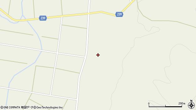 山形県東置賜郡川西町玉庭2664周辺の地図