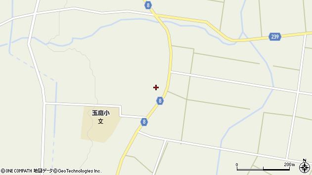 山形県東置賜郡川西町玉庭5025周辺の地図