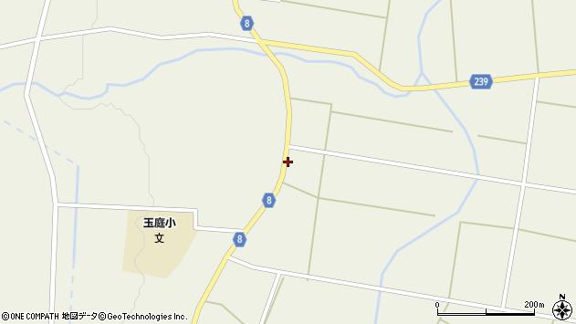 山形県東置賜郡川西町玉庭4981周辺の地図