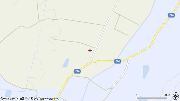 山形県東置賜郡川西町上奥田4201周辺の地図