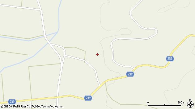 山形県東置賜郡川西町玉庭新蔵周辺の地図