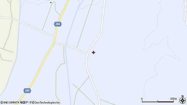 山形県東置賜郡川西町大舟1091周辺の地図