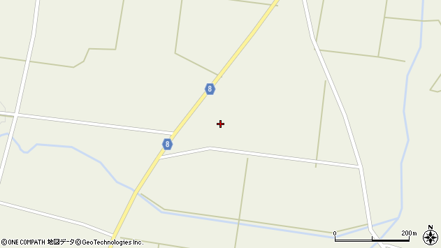 山形県東置賜郡川西町玉庭4443周辺の地図
