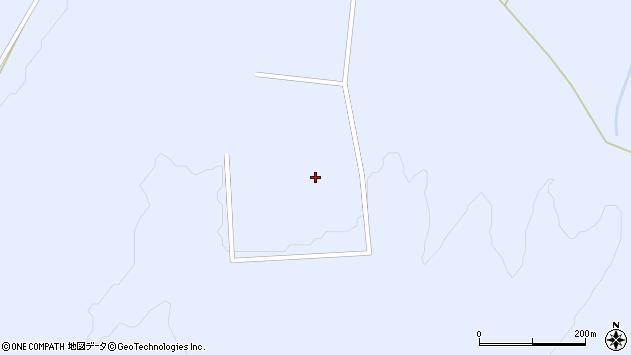 山形県東置賜郡川西町大舟蟹沢入周辺の地図
