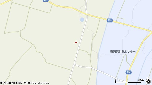 山形県東置賜郡川西町上奥田3836周辺の地図