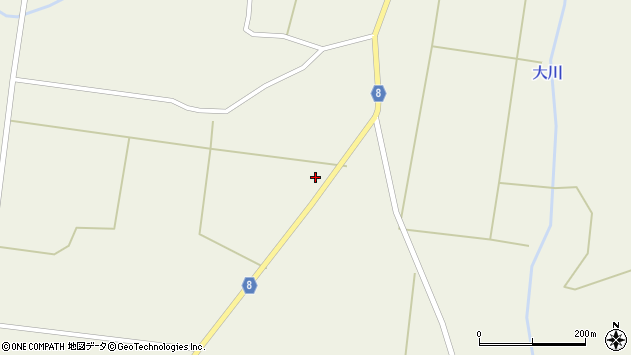 山形県東置賜郡川西町玉庭4209周辺の地図