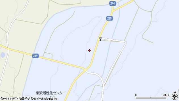 山形県東置賜郡川西町大舟988周辺の地図