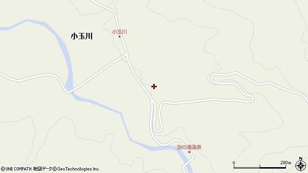 山形県西置賜郡小国町小玉川18周辺の地図