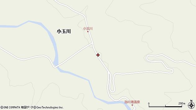 山形県西置賜郡小国町小玉川24周辺の地図