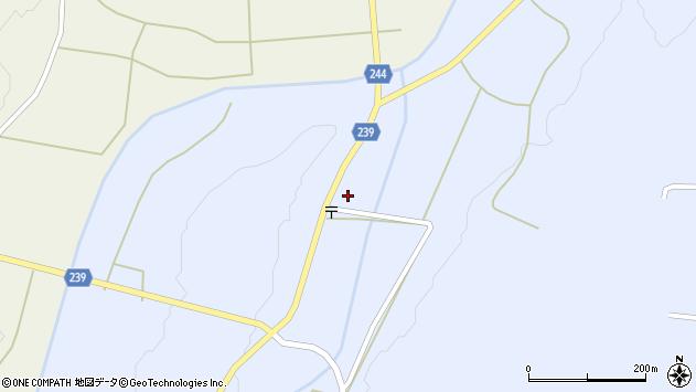 山形県東置賜郡川西町大舟1012周辺の地図