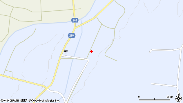 山形県東置賜郡川西町大舟1129周辺の地図