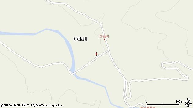 山形県西置賜郡小国町小玉川88周辺の地図