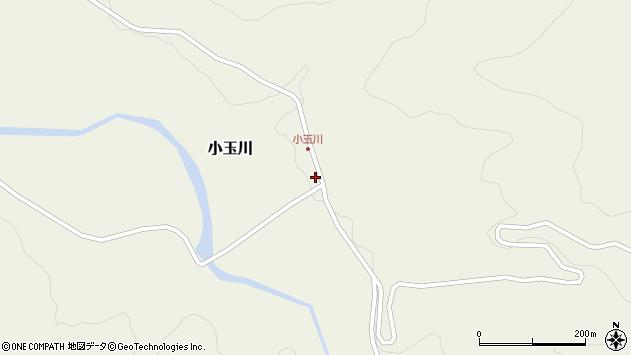 山形県西置賜郡小国町小玉川90周辺の地図
