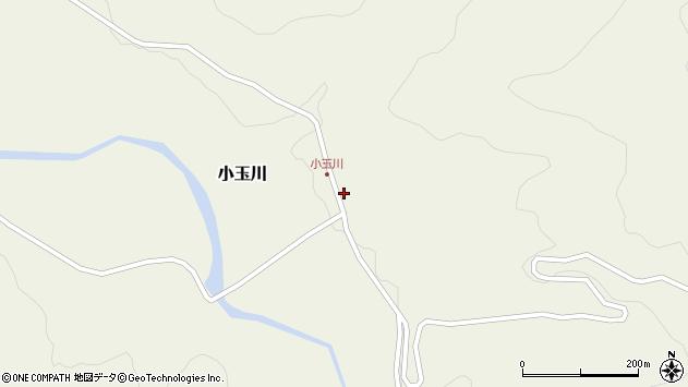 山形県西置賜郡小国町小玉川周辺の地図