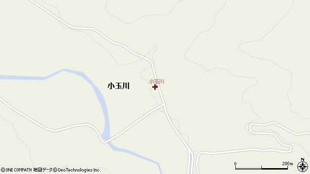 山形県西置賜郡小国町小玉川142周辺の地図