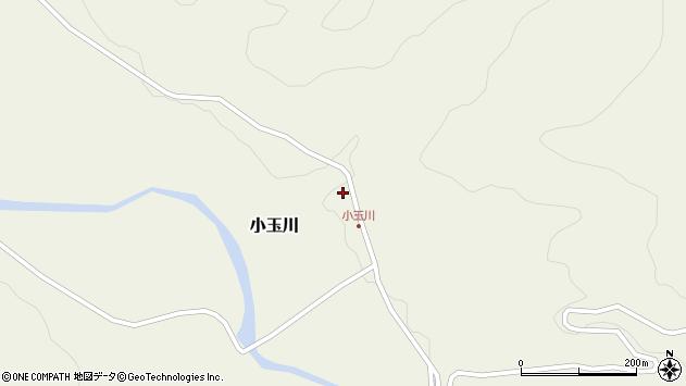 山形県西置賜郡小国町小玉川130周辺の地図