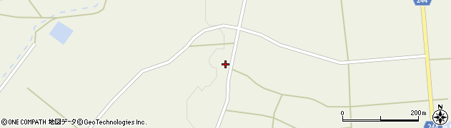 山形県東置賜郡川西町上奥田3759周辺の地図