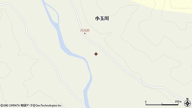 山形県西置賜郡小国町小玉川289周辺の地図