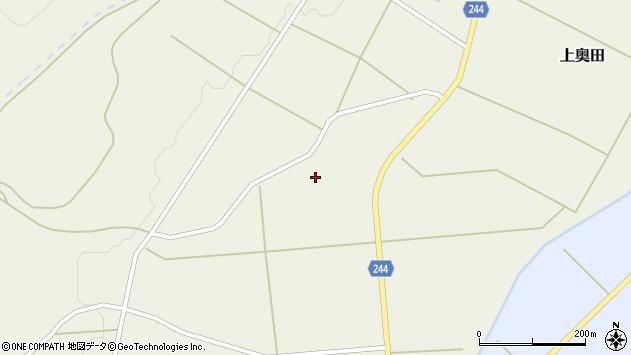 山形県東置賜郡川西町上奥田2491周辺の地図