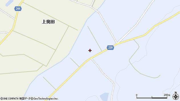 山形県東置賜郡川西町大舟1268周辺の地図