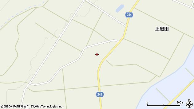 山形県東置賜郡川西町上奥田2450周辺の地図