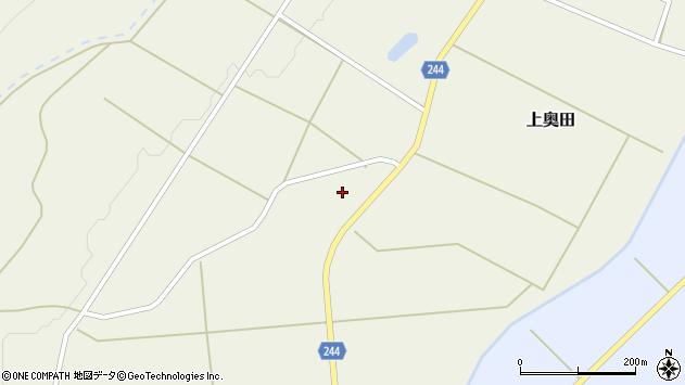 山形県東置賜郡川西町上奥田2458周辺の地図