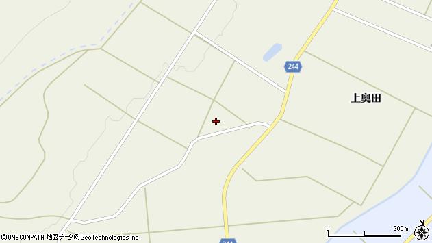 山形県東置賜郡川西町上奥田4078周辺の地図