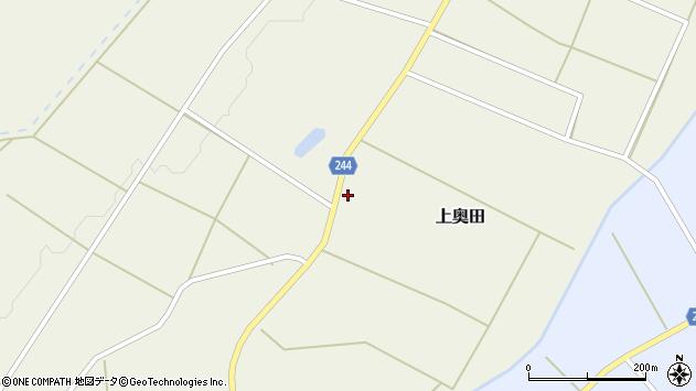 山形県東置賜郡川西町上奥田3975周辺の地図