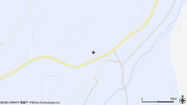 山形県東置賜郡川西町大舟山口周辺の地図